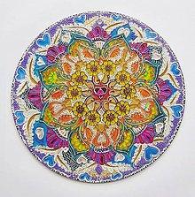 Obrazy - Mandala radosti a života - 12113668_
