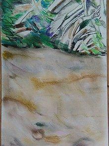 Kresby - Kresba a akvarel. Medzi nami stromami - 12114565_
