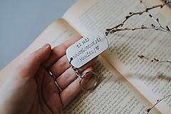 Kľúčenky - Si môj najobľúbenejší manžel - 12115203_