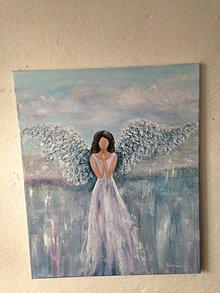 Obrazy - Anjel štastia - 12116287_