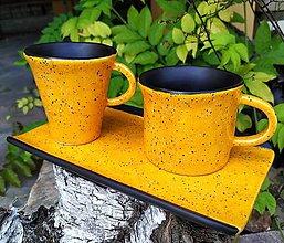 Nádoby - keramický set na kávu - 3 ks - 12114745_