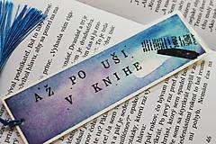 Papiernictvo - Záložka - Až po uši v knihe - 12113900_