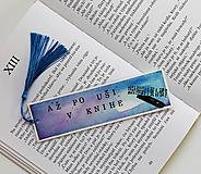 Papiernictvo - Záložka - Až po uši v knihe - 12113901_