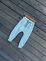 Detské oblečenie - Nohavice mint - pudláče - 12115458_