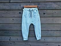 Detské oblečenie - Nohavice mint - pudláče - 12115459_
