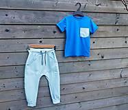 Detské oblečenie - Nohavice mint - pudláče - 12115476_