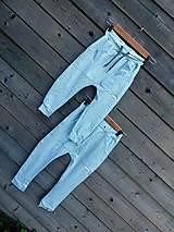 Detské oblečenie - Nohavice mint - pudláče - 12115477_