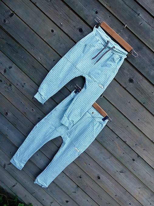 Nohavice mint - pudláče