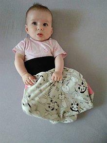 Textil - Detský spací vak do pása - 12114432_