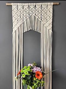 Úžitkový textil - Záves namiesto dverí - 12115703_