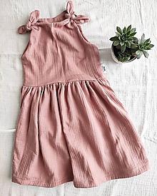 Detské oblečenie - Letné rastúce šaty - 12116586_