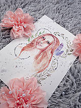 ART Print divožienka