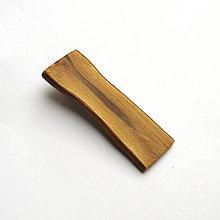 Ozdoby do vlasov - Drevená pinetka do vlasov - šípová - 12116091_
