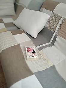 Úžitkový textil - Prikrývky na sedačku - 12115611_
