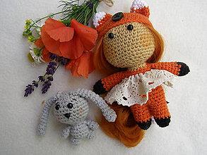 Hračky - mini bábika líštička - 12117854_