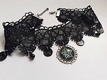 Náhrdelníky - Náhrdelník Pentagram - 12118772_