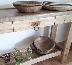 Nábytok - Konzolový stôl K&M dizajn - 12119499_