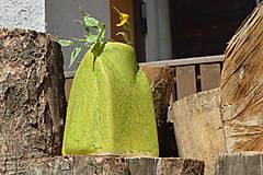 """Dekorácie - Váza zelená """"KRAKLOVANÁ"""". - 12116934_"""