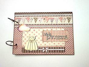 Papiernictvo - Fotoalbum * detský album * album pre dievčatkoA5 - 12118743_