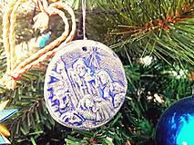 Dobrý obchod - Vianočná ozdoba - 12119772_