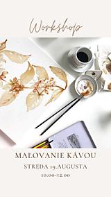 Kurzy - Workshop maľovanie kávou - 12118083_