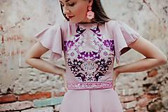 Šaty - staroružové šaty Sága krásy - 12118638_