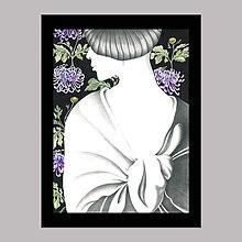 Obrazy - Whisper to the moon grafika - 12116902_