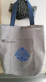 Nákupné tašky - Nákupná taška Modranka - 12119812_