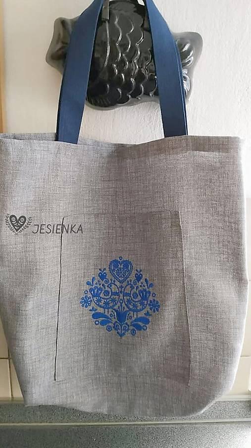 Nákupná taška Modranka
