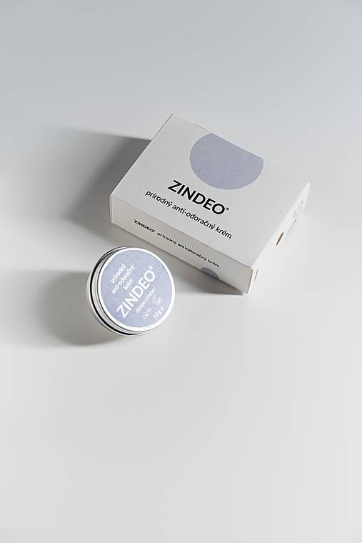 MINI Anti-odoračný krém ZINDEO®