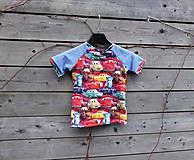Detské oblečenie - Tričko Cars - 12121424_