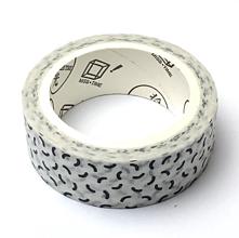Papier - Washi dekoračná páska - oblúčiky - 12121946_
