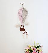 Detské doplnky - Makramé dekorácia - Balón - 12122098_