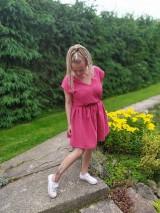 Šaty - Mušelínové šaty - 12120569_