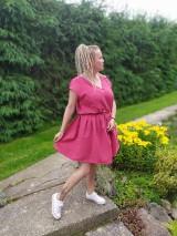 Šaty - Mušelínové šaty - 12120571_