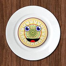 Dekorácie - Čarovný smajlík - potlač na koláč (len grafika) - vanilková farba - 12120886_