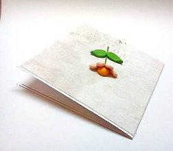Papiernictvo - Pohľadnica ... s kvetinkou - 12124345_