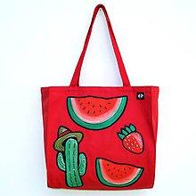 Veľké tašky - Taška Letní červenání - 12123131_