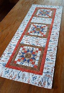 Úžitkový textil - Obrus bylinky - 12123945_