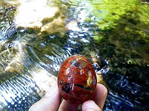 Yoni vajíčko Červený jaspis