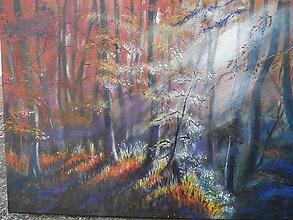 Obrazy - Jeseň a popoludnie - 12123584_