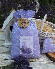 Úžitkový textil - Vrecko Levander - 12123393_