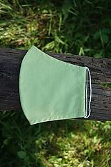 Rúško svetlé zelené