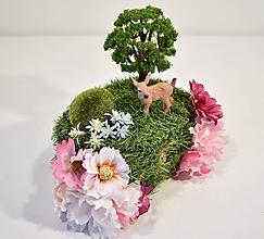 Krabičky - Šperkovnica s náušnicami pre lesné víly - 12124146_