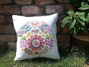 Úžitkový textil - Obliečka na vankúš kruh - 12122401_