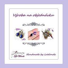 Náhrdelníky - Na objednávku Duo retiazky tyrkenit a medailón v zlatej farbe - 12127106_