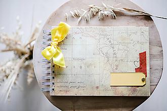 Papiernictvo - Cestovateľský album na fotografie - 12126883_