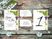 Papiernictvo - Svadobné oznámenia 25 - 12125826_