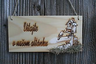 """Tabuľky - tabuľka """"Vitajte 31"""" - 12125101_"""