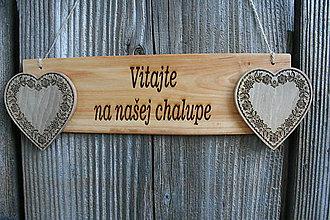 """Tabuľky - tabuľka """"Vitajte 2"""" - 12125141_"""